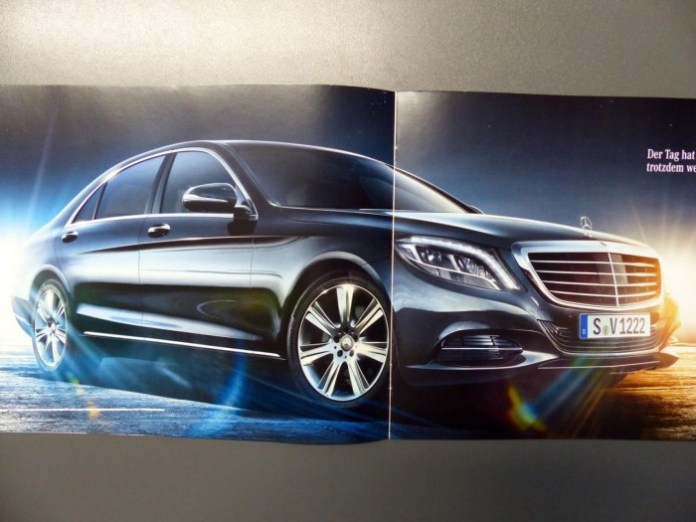 Mercedes S-Class 2014 brochure leaked (1)