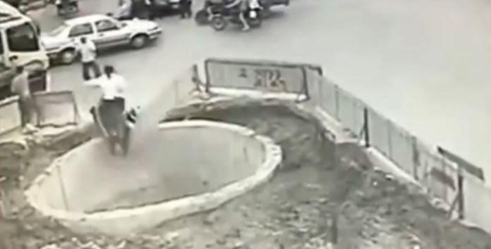 china hole