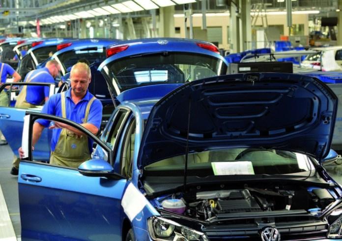 Volkswagen Sachsen GmbH, Fahrzeugwerk Zwickau / Golffertigung, Montage