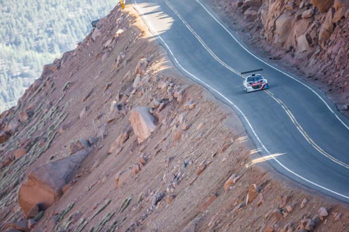 King of The Peak - Pikes Peak Climb Test 1 - 2013 (8-9 June)- Action
