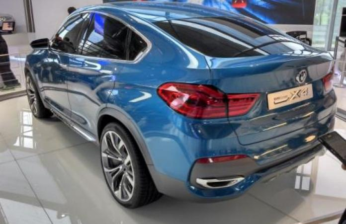 Live photos BMW X4 Concept