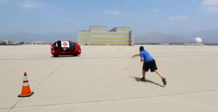 Abarth 500C play stunt