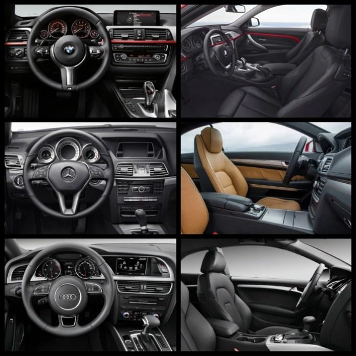 Bild-Vergleich-BMW-4er-Coupe-F32-Mercedes-E-Klasse-Audi-A5-06