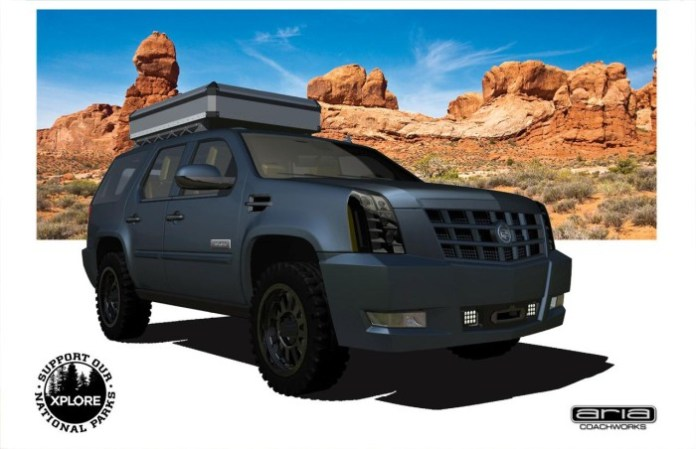Cadillac Escalade XPLORE Adventure Series
