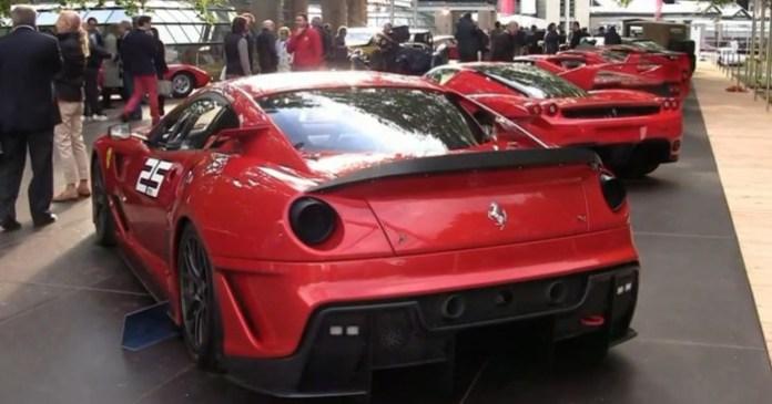 Ferrari Enzo vs 599XX vs F50 vs F40 vs GTO