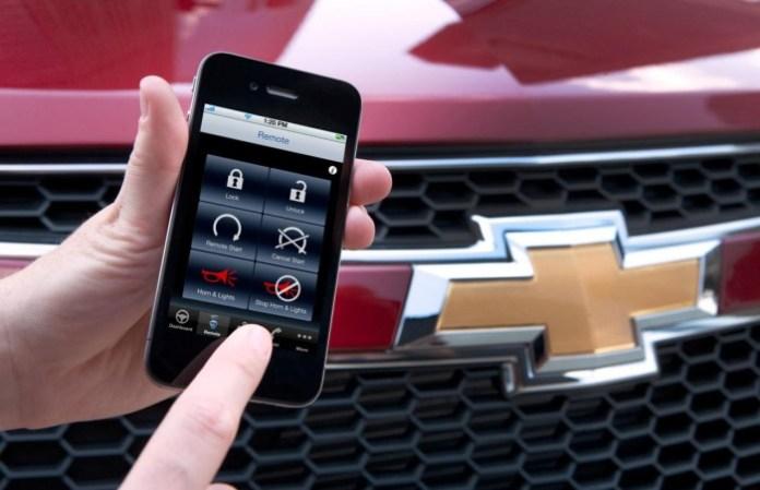 GM RemoteLink Mobile smartphone app