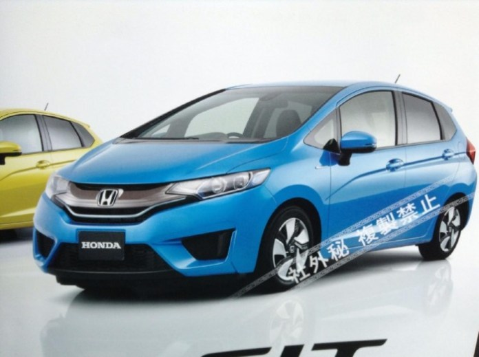 Honda Jazz 2014 leaked photos (1)