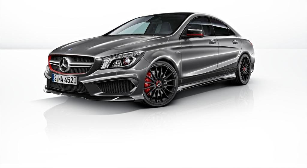 mercedes cla 45 amg edition 1. Black Bedroom Furniture Sets. Home Design Ideas