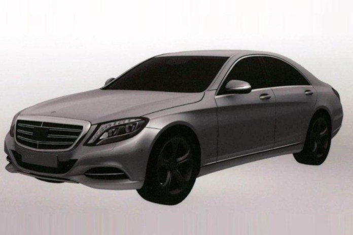 Mercedes S500 Hybrid Plus patent photos (4)