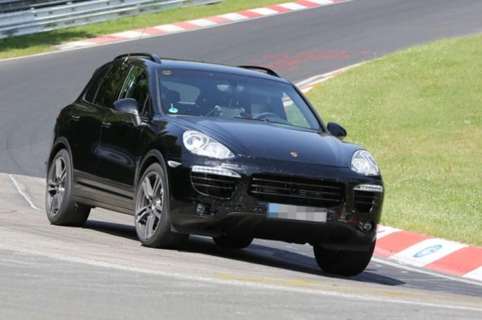 Porsche Cayenne Facelift 2015 Spy Photos (5)