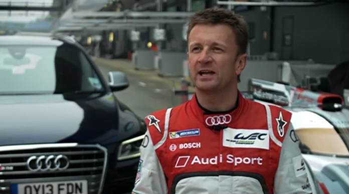 Allan McNish test drives the Audi SQ5 TDI