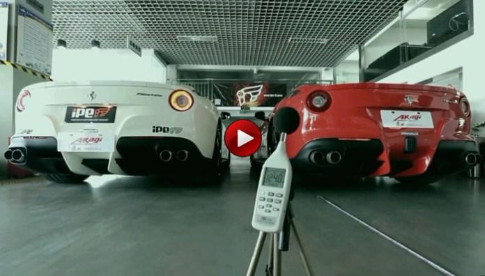Ferrari F12berlinetta iPE Innotech Exhaust System