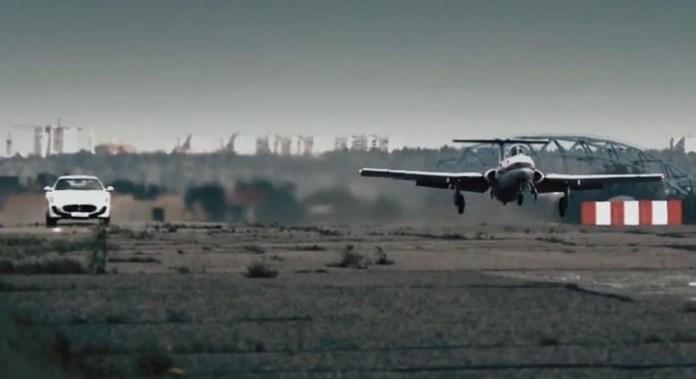Jet Aircraft vs. Maserati Mc Stradale