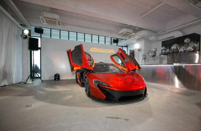 McLaren P1 event in Hong Kong (5)