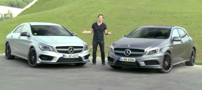 Mercedes A45 AMG Vs CLA 45 AMG
