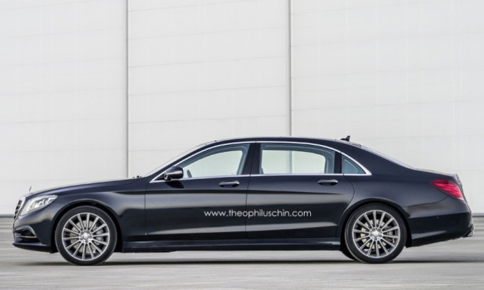 Mercedes S600 Pullman rendering (1)
