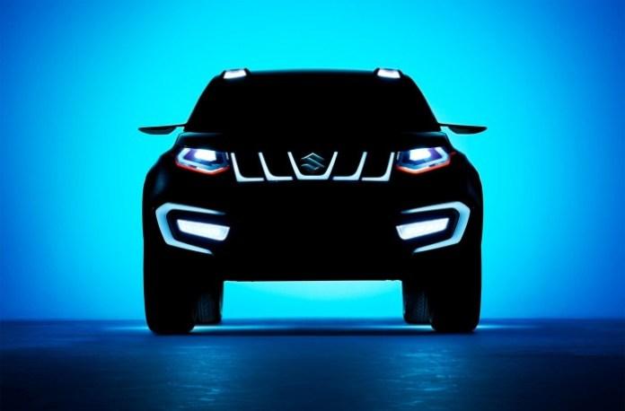 Teaser Photos Suzuki iV-4 Concept (1)