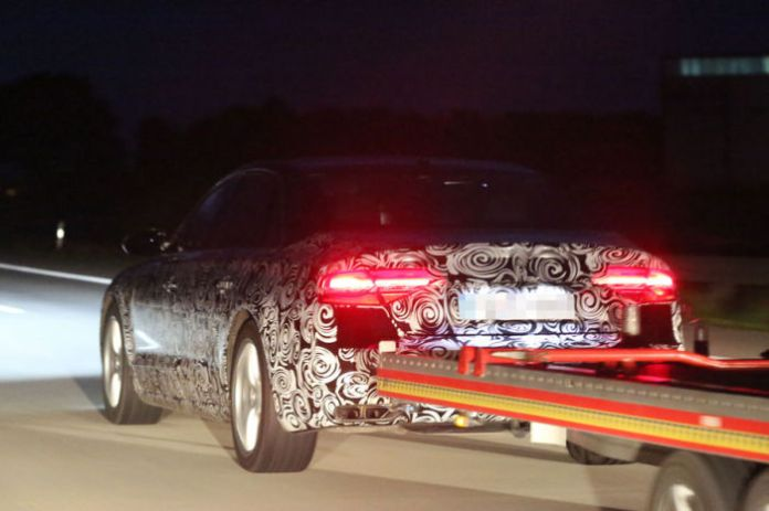 audi A8 facelift spy photos (2)