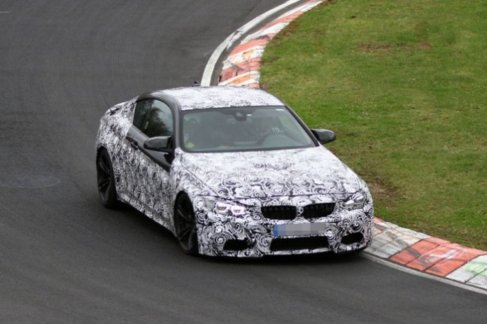 bmw-m4-coupe-spy-photos-in-nurburgring-2-700x466