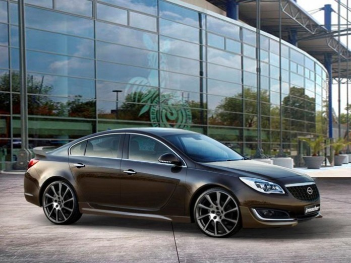 Opel Insignia facelift by Irmscher