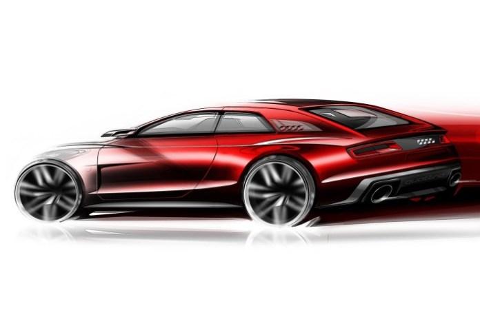 Audi Quattro Concept 2013 design sketch (2)