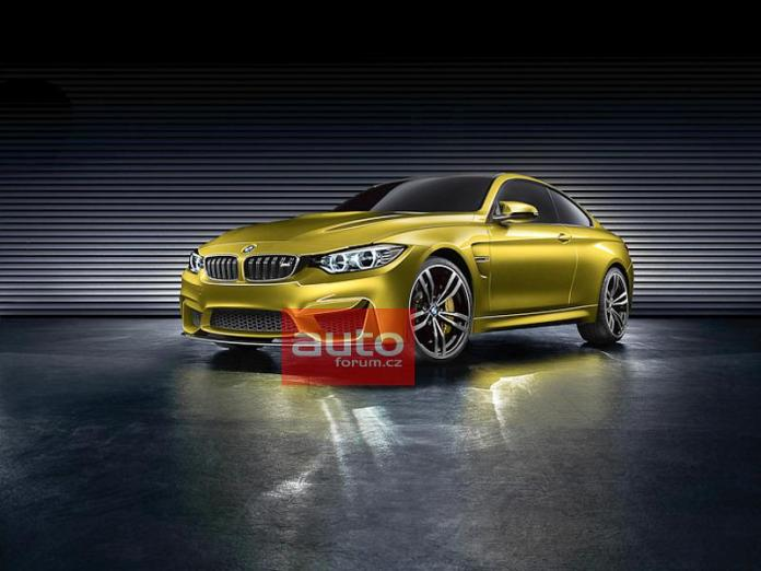 BMW M4 coupe concept (1)