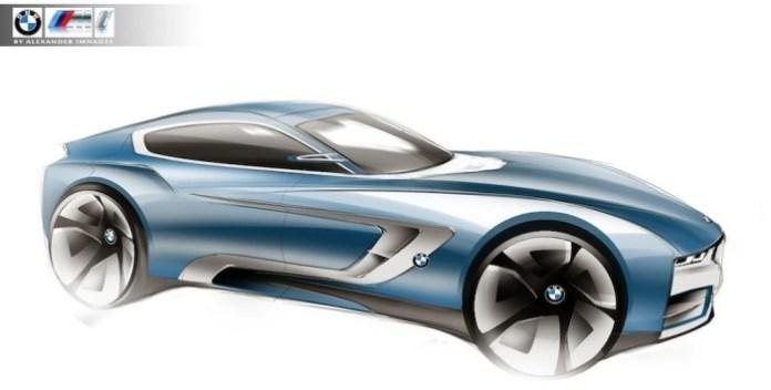 BMW Z5 rendering