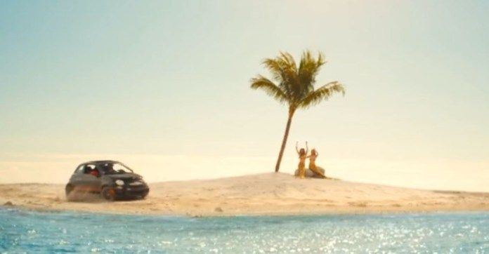 Charlie's Island Official FIAT 500 Abarth Cabrio Commercial
