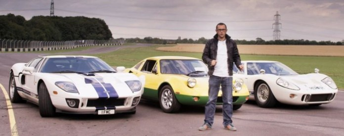 Ford GT40 vs Ford GT vs Ford GT70 Drag Race
