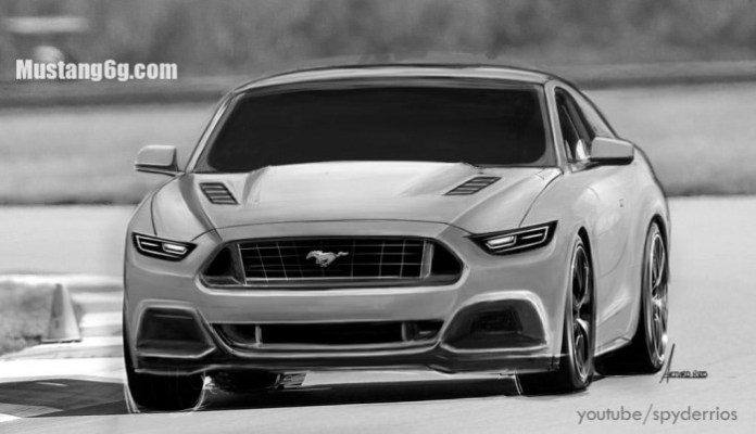 Ford Mustang 2015 Renderings (1)