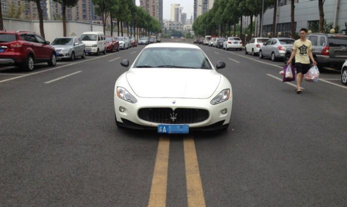 Maserati GranTurismo Parking China (1)