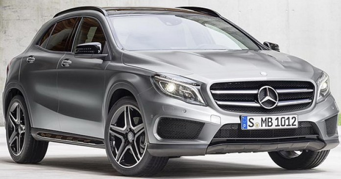 Mercedes-Benz GLA 2014 First Photos (5)
