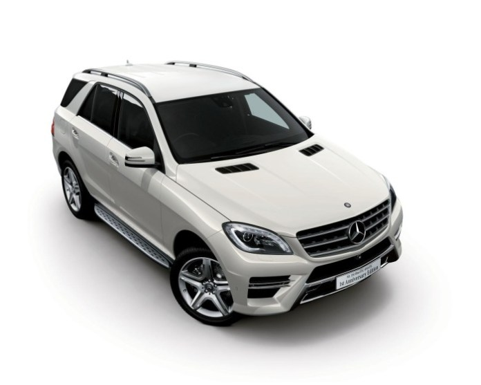 Mercedes ML350 BlueTEC 4MATIC 1st Anniversary Edition (1)