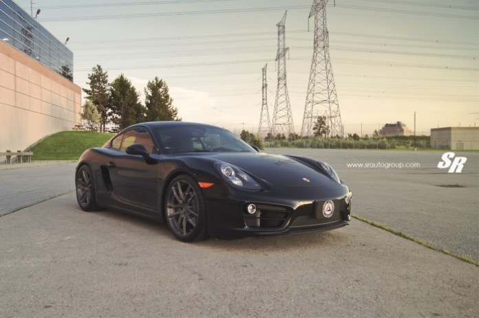 Porsche Cayman 2014 with PUR Wheels (1)