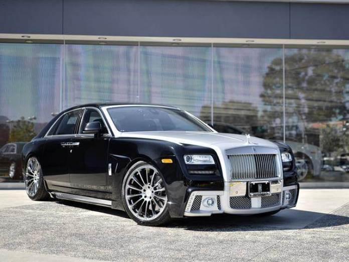 Rolls-Royce Ghost by Wald International (3)