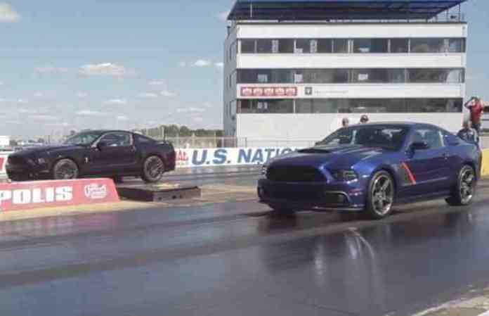 Shelby GT500 and Roush Stage 3 go head to head