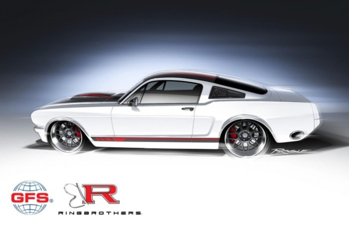 1965 Ford Mustang by Ringbrothers