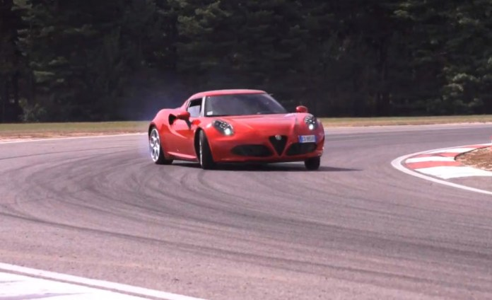Alfa Romeo 4C First Drive, Road and Track.