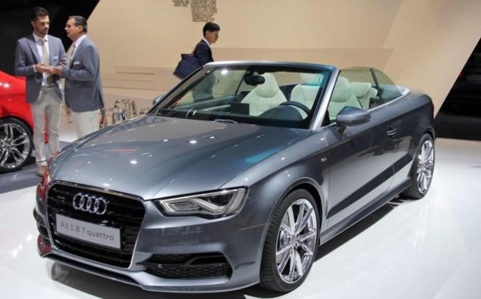 Audi A3 Cabriolet Live in Frankfurt Motor Show 2013 (2)