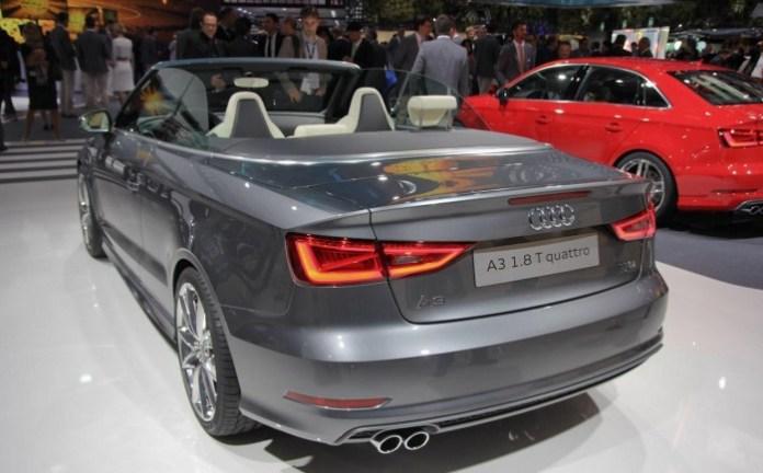 Audi A3 Cabriolet Live in Frankfurt Motor Show 2013 (5)