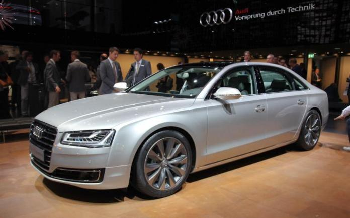 Audi A8 and S8 Facelift 2014 Live in Frankfurt 2013 (7)