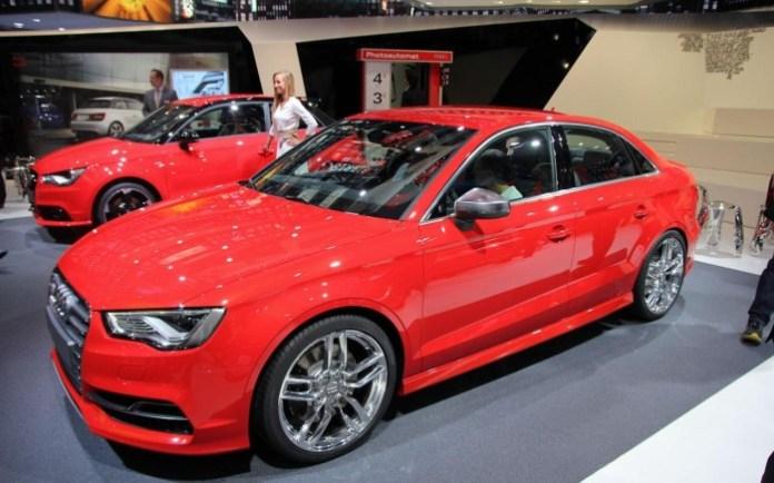 Audi S3 Sedan Live in Frankfurt Motor Show 2013 (1)