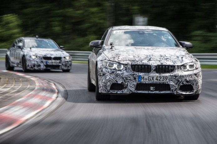 BMW M3 and M4 official Specs