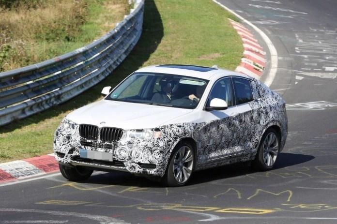 BMW X4 Spy Photos (9)