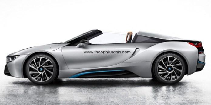 BMW i8 Spyder Renderings (2)