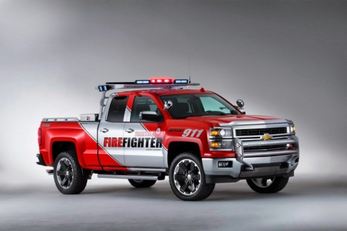 Chevrolet Silverado Black Ops and Z71 Volunteer Firefighter Concepts (5)