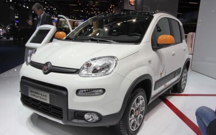 Fiat Panda 4x4 Antartica Live in Frankfurt Motor Show 2013 (1)