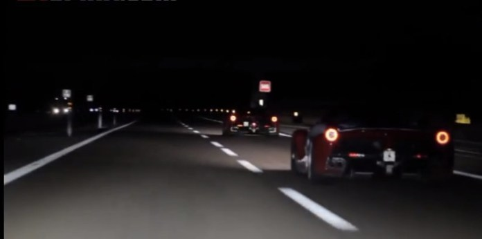 First Ferrari LaFerrari High Speed Highway & Acceleration Video