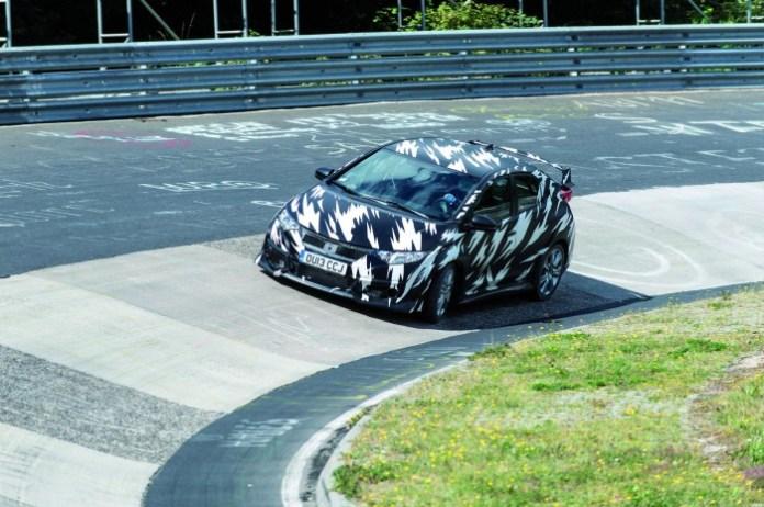Honda Civic Type-R 2015 testing (7)