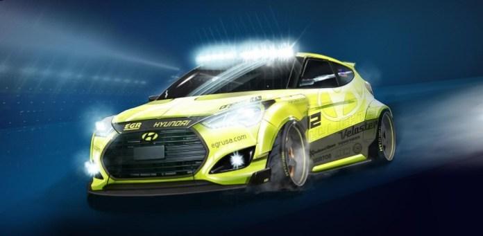 Hyundai Yellowcake Veloster Turbo